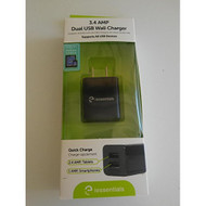 I Essentials IE-ACP-2UC 3.1 AMP USB Wall Charger - DD648782