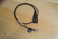 Jabra Quick Disconnect Qd To Modular Rj Straight Bottom Cord 0.5 Meter - DD649283