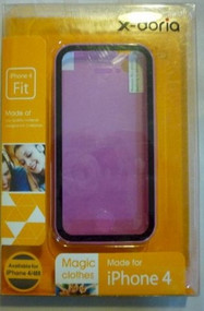 X-Doria Full Protection Case For iPhone 4-LIGHT Purple Cover - DD650825