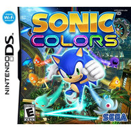 Sonic Colors For Nintendo DS DSi 3DS 2DS With Manual And Case - EE652296