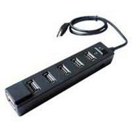 Inland 7 Port USB 2.0 Hub With Power Adapter Hub/splitter 066209 Hub - DD652481