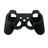 Generic Anti-Slip Silicone Game Controller Cover Black For PlayStation - DD652715