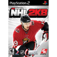 NHL 2K8 For PlayStation 2 PS2 Hockey With Manual and Case - EE655825