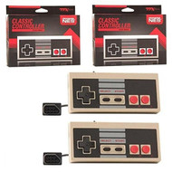 Two 2 Controllers Bundle For Nintendo NES Original Game System Pack Of - ZZ656826