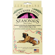 Seasonals Washable Dog Diaper Fits Medium Dogs Tiger - DD657067