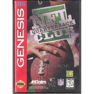 NFL Quarterback Club Gen For Sega Genesis Vintage Football - EE657731