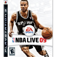 NBA Live 09 For PlayStation 3 PS3 Basketball With Manual And Case - EE658165