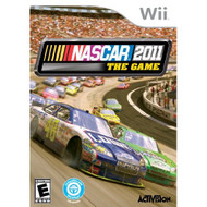 NASCAR The Game 2011 For Wii Flight With Manual and Case - EE658288
