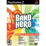 Band Hero Stand Alone Software For PlayStation 2 PS2 Music With Manual - EE659177