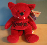 Racing Champions Series 1 WCW Bear Kevin Nash Red 9IN Plush Toy 9in. - DD660399