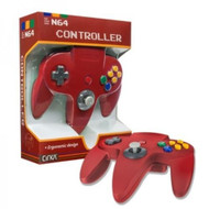 Controller For Nintendo 64 Red Joypad In Box For N64 - ZZ660523