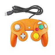 GameCube Style USB Wired Controller Gamepad For PC And MAC Orange - ZZ660557