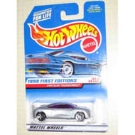 1998 First Editions #32 Chrysler Thunderbolt 5-HOLE Wheels #671 Toy - DD661585