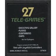 Tele-Games Target Fun Vintage 2600 Video Game Cartridge For Atari - EE661727