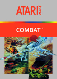 Combat For Atari Vintage Shooter - EE661728