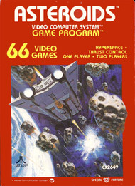 Asteroids For Atari Vintage Arcade - EE661733