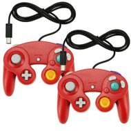 Lot Of 2X Classic Wired Gamepad Controller For Nintendo Wii GameCube - ZZ662780