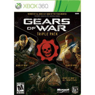 Gears Of War Triple Pack Bundle For Xbox 360 Shooter With Manual and - EE663079