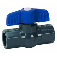 Homewerks VBV-P80-E8B Ball Valve PVC Schedule 80 Solvent X Solvent 2 - EE663170