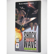 Shock Wave Operation Jumpgate Video Game For 3DO Vintage With Manual - EE663265