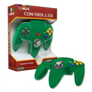 Controller For Nintendo 64 Green N64 Joypad - ZZ663590