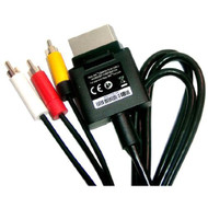 Microsoft OEM Composite AV Audio Video RCA Cable For Xbox 360 - ZZ664014