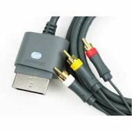 Genuine Official OEM Microsoft Xbox 360 Audio Video AV Composite Cable - ZZ664019