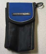 BD&A Pouch Travel Carry Case Blue Game For DS - EE664152