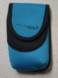 BD&A Neoprene Mini Travel Carry Case Pouch Teal Blue DSi For DS - EE664162