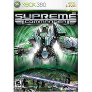 Supreme Commander For Xbox 360 With Manual and Case - EE664329