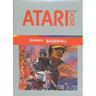 Realsports Baseball For Atari Vintage - EE665539