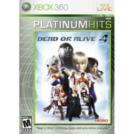 Dead Or Alive 4 Platinum Hits For Xbox 360 Fighting With Manual and - EE665715