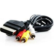 Original Xbox Standard AV Cable Composite Audio Video RCA 6FT Cord - ZZ666565