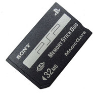 32MB Sony OEM Memory Stick Duo PSP - ZZ667880