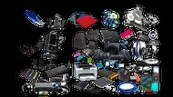 Random Lot Of Three 3X Computer Accessories - ZZ668644