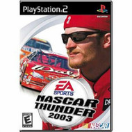 NASCAR Thunder 2003 For PlayStation 2 PS2 Flight With Manual and Case - EE669115
