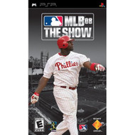 MLB 08 The Show Sony For PSP With Manual And Case UMD Baseball - EE669211