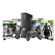 Xbox 360 250GB Black Friday Bundle With Halo 4 Darksiders II Tomb - ZZ669701