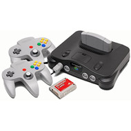 Nintendo 64 Starter Pack With Memory Card And Extra Controller - ZZ670202