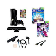 Xbox 360 250GB Kinect Bundle With 3 Games & Accessories  - ZZ670914