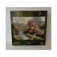 Thomas Kinkade Lamplight Bridge 1000 PC Toy - EE670936