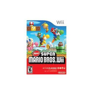 New Super Mario Bros With Manual And Case  For Wii And Wii U - ZZ671768