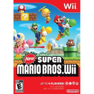 New Super Mario Bros Wii By Nintendo With Manual And Case For Wii And - ZZ671764
