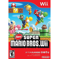 New Super Mario Bros Wii By Nintendo With Manual and Case - ZZ671766