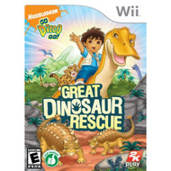 Go Diego Go!: Great Dinosaur Rescue For Wii - EE671858