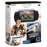 Limited Edition PSP 3000 Black Sports Entertainment Pack - ZZ672013