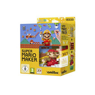 Nintendo Super Mario Maker And Mario Amiibo Wii U - ZZ672106