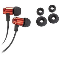 Insignia Stereo Earbud Headphones Red Earphones - EE670218