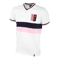 Palermo Away 1970's Short Sleeve Retro Shirt 100% cotton