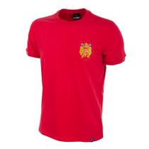 Spain 1978 Short Sleeve Retro Shirt 100% cotton